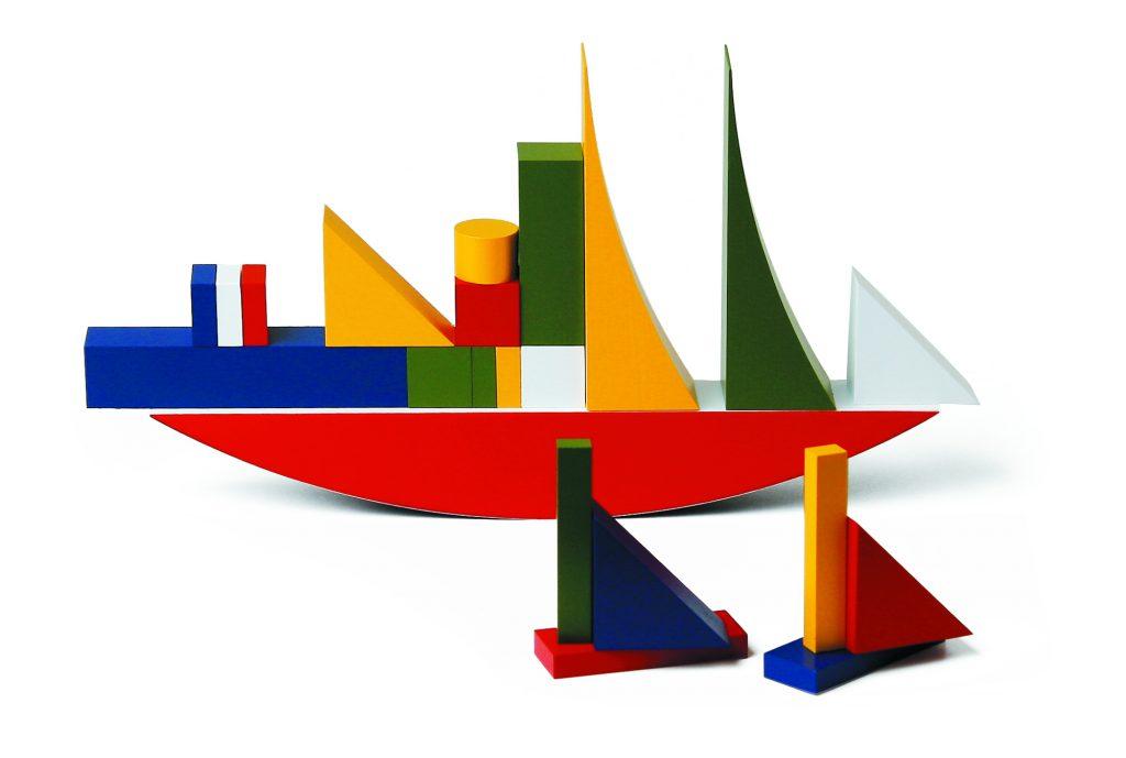 Blocs d'Alma Siedho-Buscher du Bauhaus. ©Naef, photo: Heiko Hillig