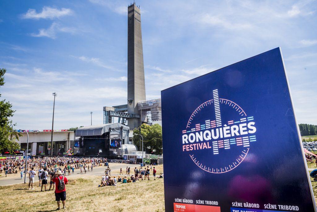 La scène de Ronquières Festival le 4 août 2018 @BelgaImage